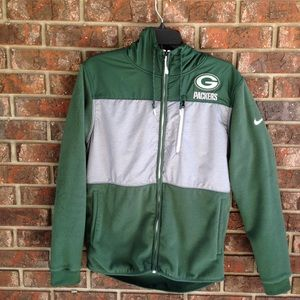 Nike Therma Fit Packers Hoodie Size Small
